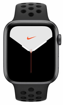$ CDN501.11 • Buy Apple Watch Series 5 Nike 44mm Space Gray Aluminum Case With Anthracite/Black...