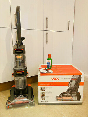 Vax W86-DP-B Dual Power Upright Carpet Cleaner Washer 800W 1.5L Lightweight • 41£