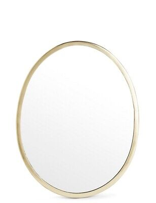 M&S / Marks And Spencer / Antique Gold Pebble Mirror • 3.24£