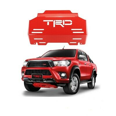 AU450 • Buy TRD Red Front Bash Plate To Suit Toyota Hilux N80