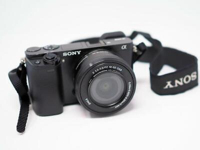 $ CDN393.35 • Buy Sony A6000 Camera W/ 16-50mm Zoom Lens And Extra Batteries Alpha
