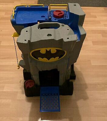 BATMAN HOUSE / CAVE Imaginext Fold Away Bat Cave Playset From 2007 • 8.99£