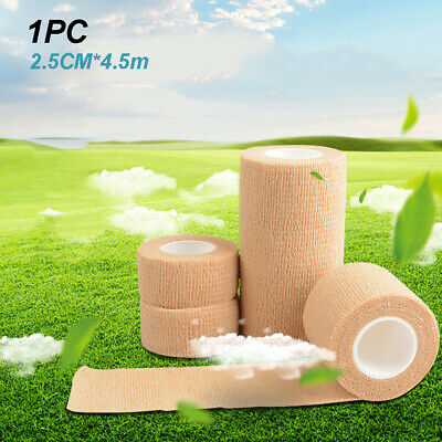 Fabric Strapping Tape Heavy Duty Sports Medical Support Tape. Nude 2.5cmx4.5m • 4.29£