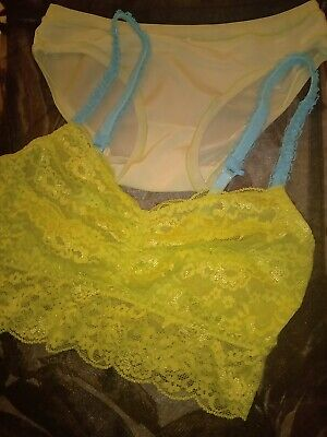 AU29.99 • Buy Bras N Things Bra Sets Lace Colourful Bralettes X2 Size 8 Bnwt Fast & Free Post!