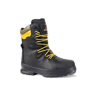 Rock Fall RF328 Chatsworth SBP Black Electrical Hazard Chainsaw Work Safety Boot • 187.89£