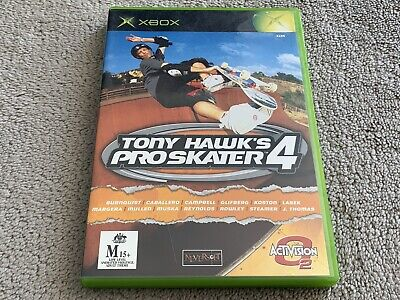 AU18.99 • Buy Tony Hawk's Pro Skater 4 - Xbox Game - Australian PAL Version