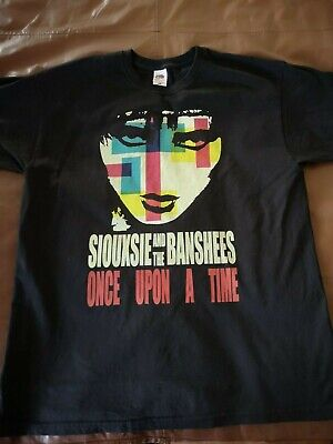 Siouxsie And The Banshees Once Up On A Time  T Shirt Black Size XL • 9.99£