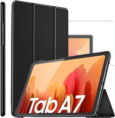 For Samsung Galaxy Tab A7 10.4 (2020) Smart Case Cover & Glass Screen Protector  • 11.99£