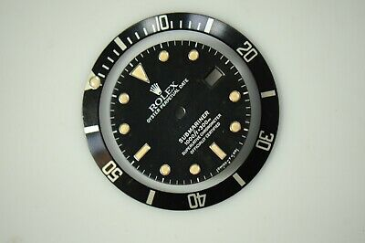 $ CDN1842.12 • Buy Original Rolex 16610 Submariner Tritium Black Dial&bezel Set