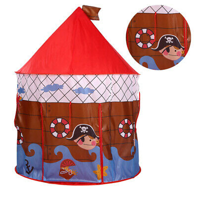 Kids Outdoor Princess Castle Tent 135cm Large Fun Playhouse Play Toy Pop Up Home • 13.98£