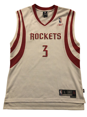 AU70 • Buy Steve Francis #3 Houston Rockets NBA Jersey 2003 Vintage - 100% Authentic SIZE L