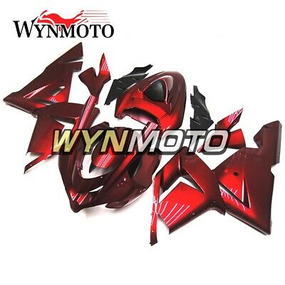 $448.99 • Buy Candy Red Fairing Kit For Kawasaki ZX10R 2004 2005 ABS Injection Bodywork Kit