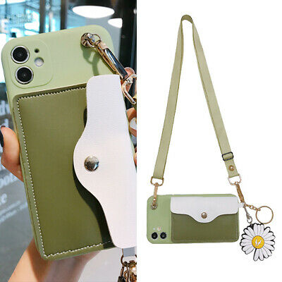 AU7.96 • Buy Fashion Crossbody Wallet Purse Pendant Women Girl Case Cover For Various Phone