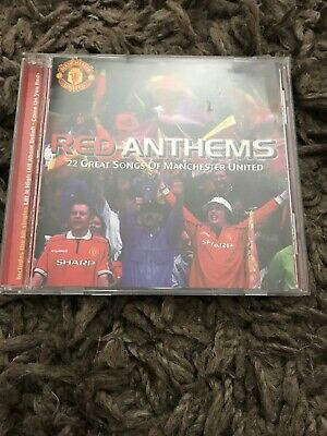 Red Anthems (1999) CD - 22 Great Songs Of Manchester United - Various Artists • 13.99£