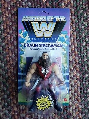 $27.99 • Buy WWE Masters Of The Universe Braun Strowman New Ready To Ship!