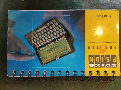PSION Series 5 User Guide • 1.40£