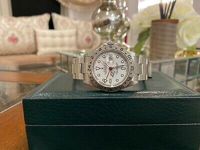 $ CDN10065.87 • Buy Rolex Explorer II 16570 Polar White Dial 2007 Unpolished Immaculate Condition