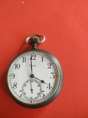 Antique Cyma Brevets Swiss Pocket Watch _191 • 120£