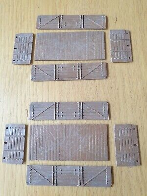 Ian Kirk 2 Off GWR 5 Plank Open Wagon  Kit 4mm No Underframe,wheels,instructions • 2£