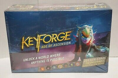 $ CDN66.80 • Buy KeyForge Age Of Ascension Booster Box NEW, FACTORY SEALED