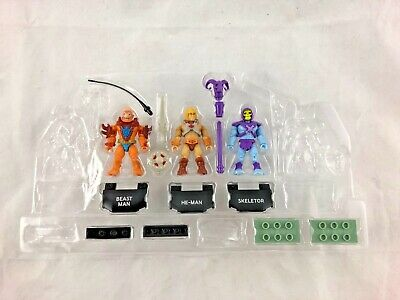 $14.99 • Buy Mega Construx - Masters Of The Universe - Lot Of 3 - Mini Figures - NEW In Mold