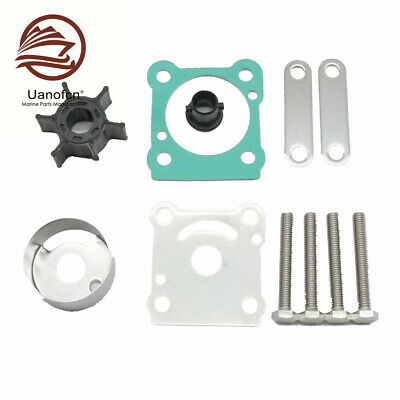 AU26.45 • Buy Outboard Water Pump Impeller Kit For Yamaha 6N0-W0078-A0-00 6HP 8HP 18-3460 Boat