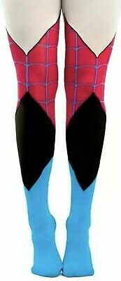 *CUTE Official Marvel Spider Gwen Tights. New And Sealed Onesize *FREE UK P&P • 3.49£