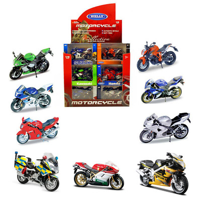 £9.79 • Buy Motorcycle Motorbike Collection 1:18 Scale Die-cast Model Toy CHOOSE YOUR BIKE