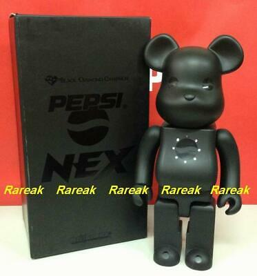 $574.99 • Buy Medicom Bearbrick 2010 Pepsi Nex 400% Pepsi Black Diamond Companion Be@rbrick