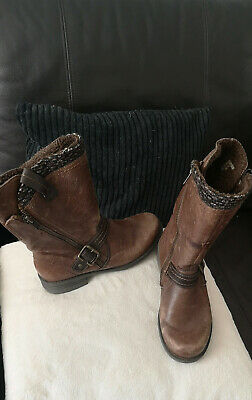 Women's Boots Distressed PAVERS Ankle Boots Size 5 • 49.99£