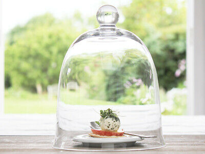 £19.95 • Buy Large Candle Cloche Glass Bell Dome Jar Wedding Garden Vintage Gift  Decor Home