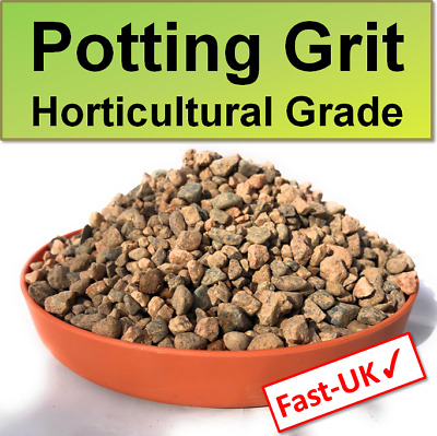 £8.99 • Buy Garden Potting Grit - Washed Pure Grow Lime Free Draining Pot Soil 0.5,1,2 Kg