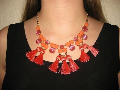 $ CDN40.21 • Buy Kate Spade The Swing Of Things Pink Multi Necklace With Dust Bag NEW WITH TAGS