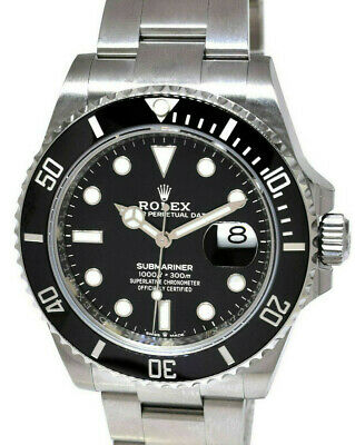 $ CDN22909.24 • Buy Rolex NEW 2020 Submariner Date 41mm Steel Ceramic Mens Watch Box/Papers - 126610
