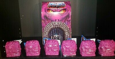 $60 • Buy MASTERS OF THE UNIVERSE Eternia Minis WAVE 2.   6 FIGURE LOT AND BOX