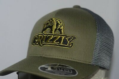 $ CDN32.06 • Buy Grizzly Hat Chewing Tobacco Cap Camo Snuff Wintergreen Dip Redneck Long Cut Chew