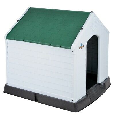 $89.99 • Buy Confidence Pet Large Waterproof Plastic Dog Kennel Outdoor House