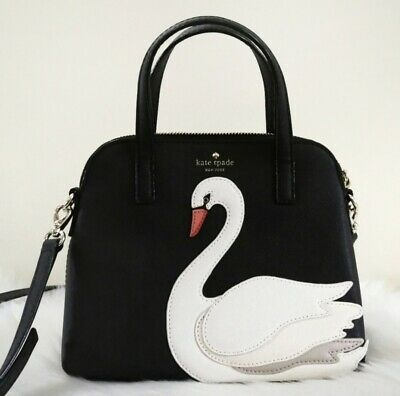 $ CDN270 • Buy Kate Spade On Pointe Small Maise Purse Kate Spade Black Swan Maise Handbag