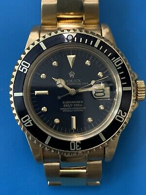 $ CDN47527.30 • Buy Rolex Submariner Yellow Gold Ref. 1680 Vintage FABOULOUS (417)