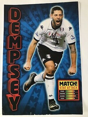 Clint Dempsey - Fulham Footballer Signed Picture  • 2.50£