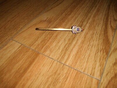 Vintage Royal Corps Army Ordnance Tie Bar Pin • 1.49£
