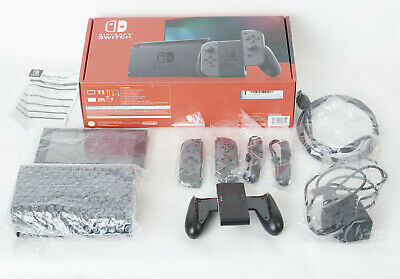 AU420 • Buy Nintendo Switch HAC-001 - Grey - All Accessories In Box