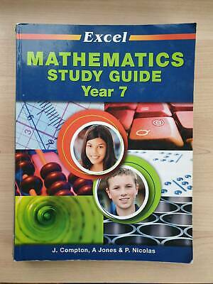 AU5 • Buy Year 7 Maths Mathematics Study Guide From Excel - Hornsby