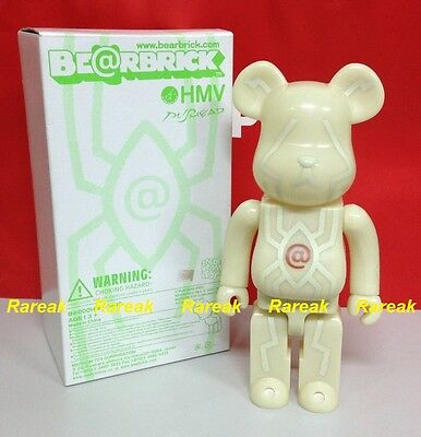 $468.99 • Buy Medicom Be@rbrick 2003 HMV Pushead GID 400% Spider Eye Glow In Dark Bearbrick