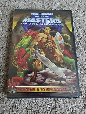 $1 • Buy He-Man And The Masters Of The Universe: Origins (DVD, 2009) NEW SEALED