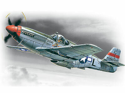 ICM48121 - ICM 1:48 - Mustang P-51C WWII American Fighter • 14.99£