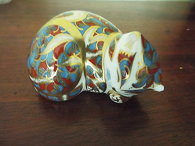 Royal Crown Derby Contented Kitten • 45£