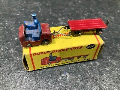 Dinky Toys Dublo Lansing Bagnall Tractor & Trailer Boxed  • 59.99£
