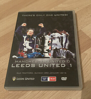 Leeds United V Manchester United FA Cup 3rd Round 2010 DVD • 9.99£