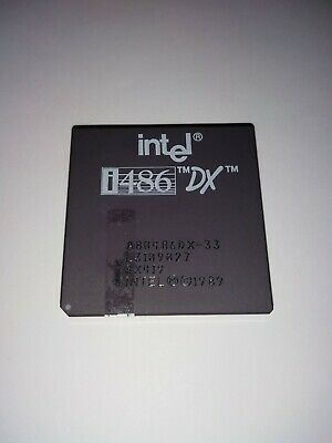 AU49 • Buy Vintage Intel 486 DX-33 CPU, Pickup OK